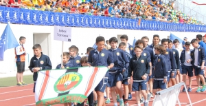 Unió de fútbol base Jabac Terrassa, club catalán en el 10º Torneo Primer Toque