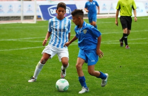 Debutante en el Torneo Primer Toque... Málaga C.F!!!