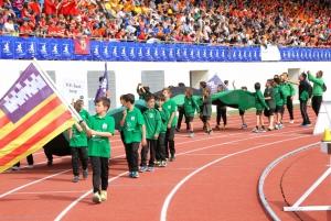 Desde la isla de Ibiza nos visitan con cuatro equipos el P.E Sant Jordi
