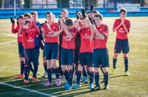Desde Navarra debutará en el Torneo Primer Toque... C.A Osasuna!!!