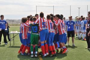 El Atlético de Madrid visita el 10º Torneo Primer Toque con tres conjuntos